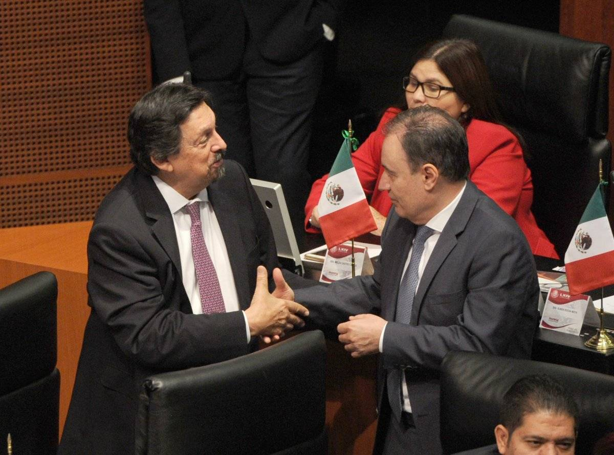 El senador de Morena se sumo al clamor público. Foto: Cuartoscuro.
