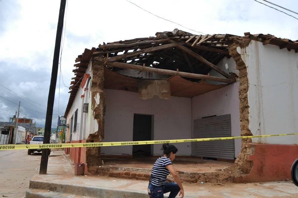 Afectaciones en Chiapas Foto: Cuartoscuro