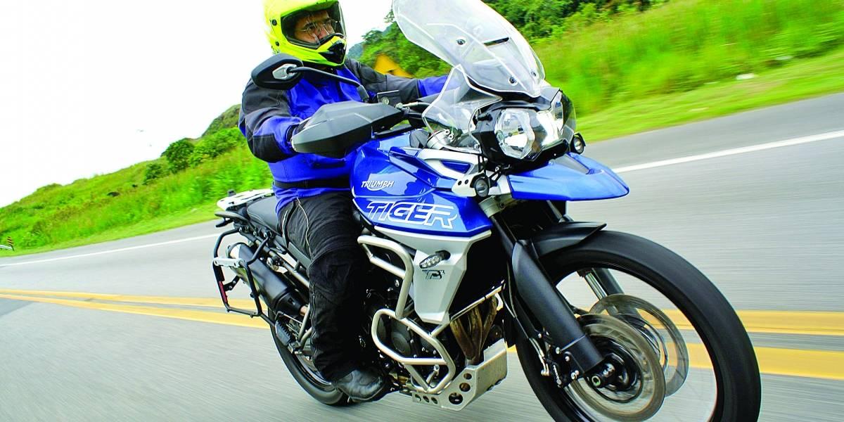Moderna e arrojada, motos Triumph Tiger ganham novos modelos