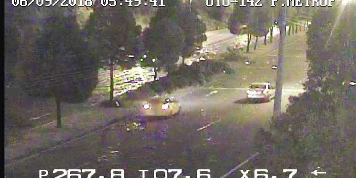 Quito: Tres heridos tras un accidente de tránsito en el sector El Troje