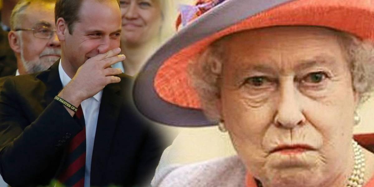El chiste sobre la marihuana que hizo el Príncipe William