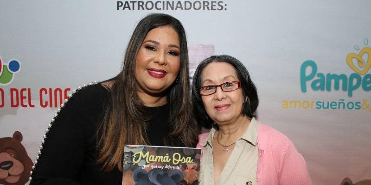 "Yina Guerrero publica su libro infantil ""Mamá Osa, ¿por qué soy diferente?"""