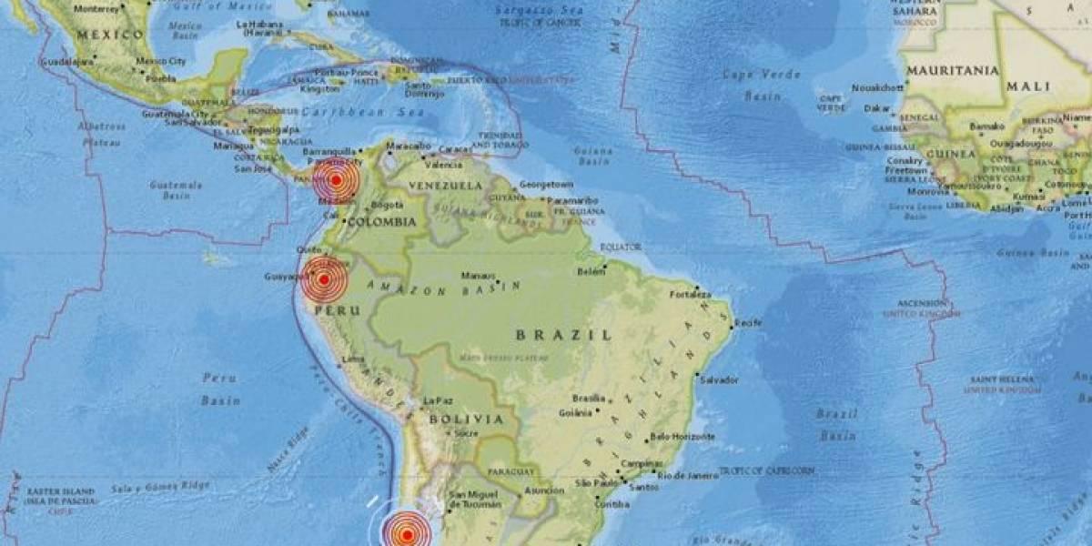 Sismos| En menos de una hora tres países temblaron