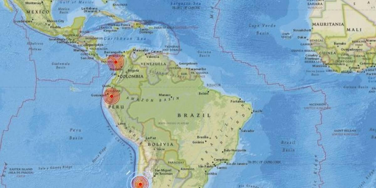 """Terremoto en Ecuador, fuertes sismos en Chile y Panamá en apenas 50 minutos: la noche en que el """"anillo de fuego"""" remeció al Pacífico"""