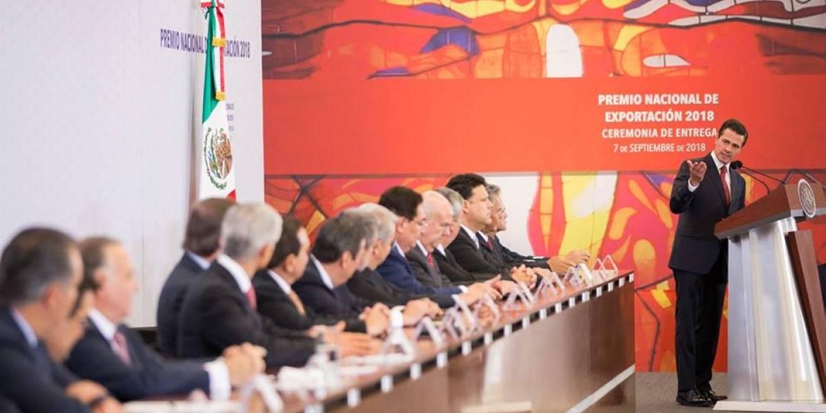 México avanza como potencia exportadora: Peña Nieto