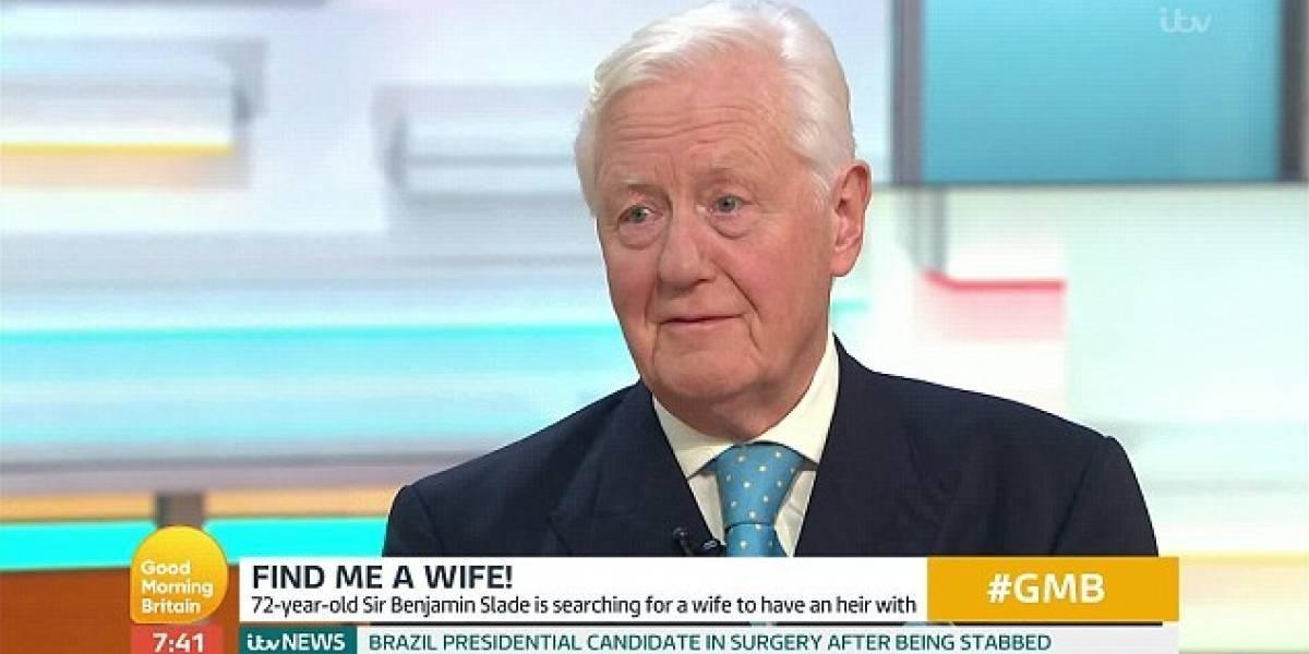 Multimillonario de 72 años busca esposa joven para dejarle su fortuna y sus castillos