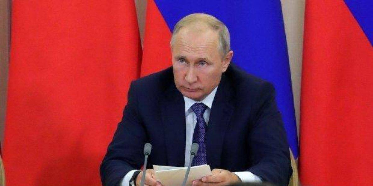 Putin acusa a los terroristas de Siria de planear usar armas químicas