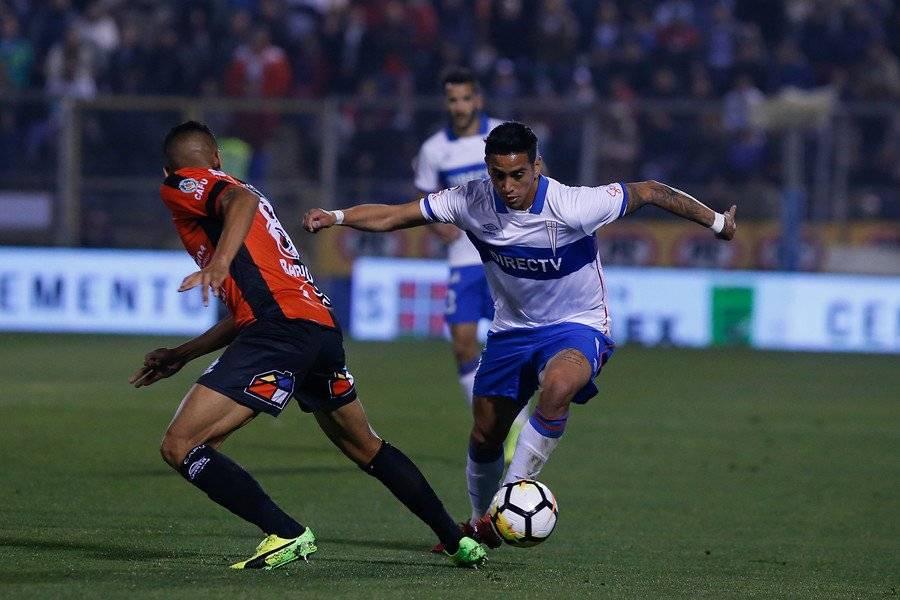 Andrés Vilches jugó por última vez con la UC por el Campeonato Nacional en el 0-0 ante Antofagasta en casa (27/05) / Foto: Agencia UNO
