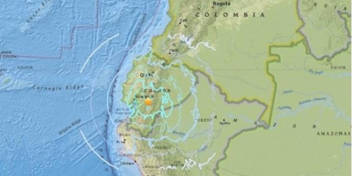 Cadena de sismos sacude a Panamá, Ecuador y Chile