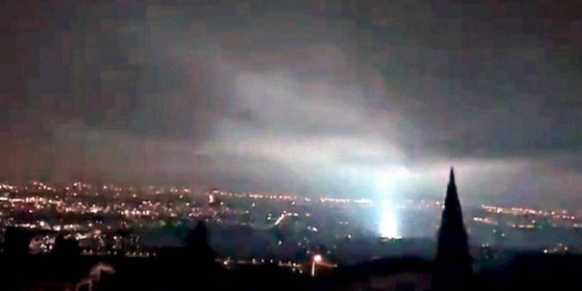 Por esta razón se vieron luces durante el sismo del 7-S en México