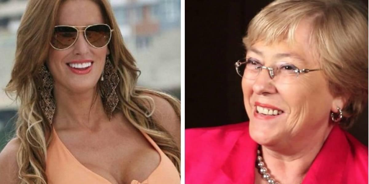 El día en que Adriana Barrientos recibió ayuda de Michelle Bachelet