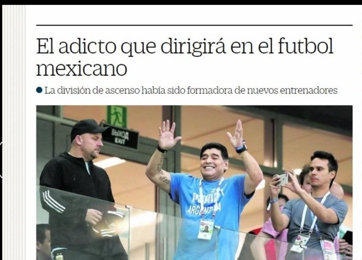 Crítica a Maradona