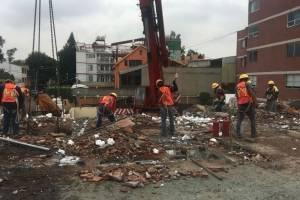 Demolición Colegio Enrique Rébsamen