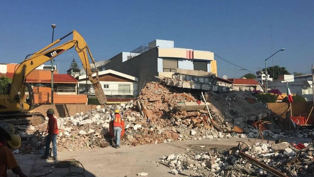 La Sobse ha terminado la demolición de 63 inmuebles afectados por el sismo del 19 de septiembre Foto: Cortesía