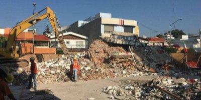 Concluye demolición del Colegio Enrique Rébsamen