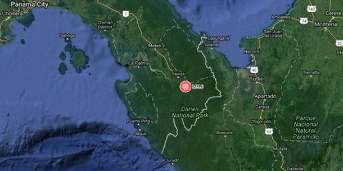 Se registran fuertes sismos en la frontera entre Panamá con Colombia, y en Chile