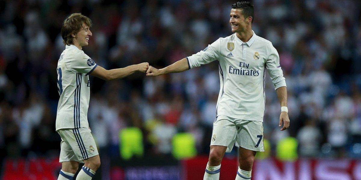 Luka Modric revela que Cristiano lo felicitó por el premio UEFA