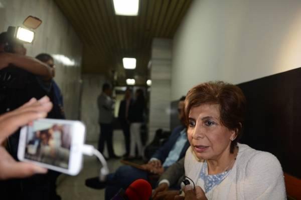 Diputada Nineth Montenegro presenta pruebas de descargo por antejuicio en su contra