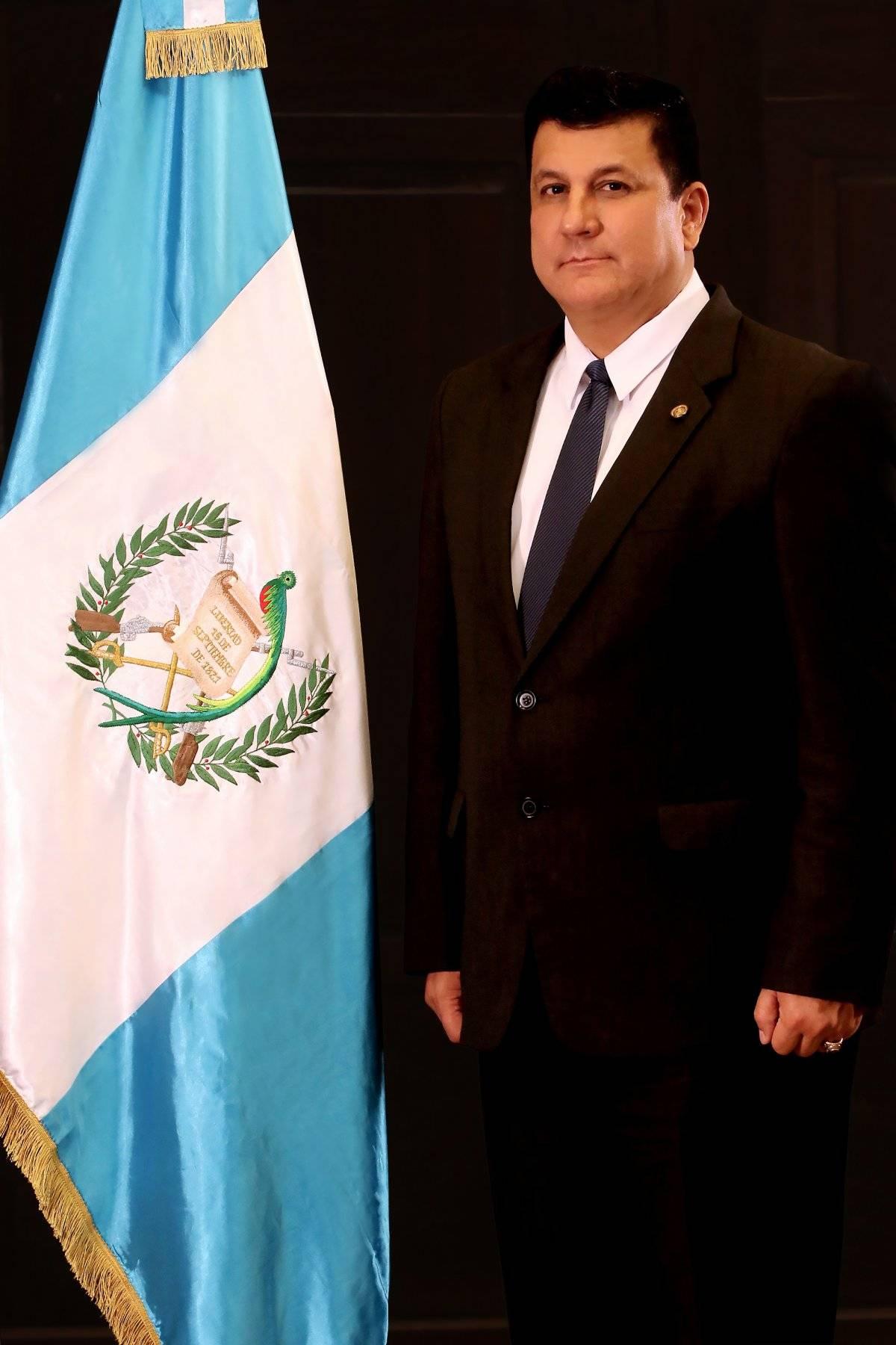 Diputado Estuardo Galdámez. Foto: Congreso
