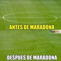 Los Memes de Maradona