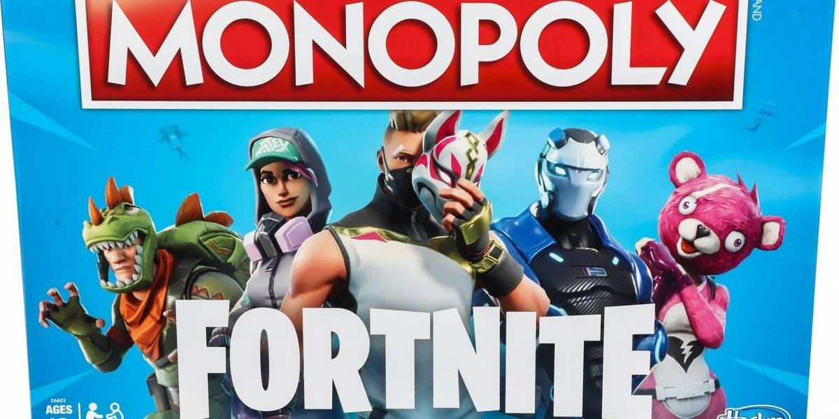 Fortnite tendrá su propia edición de Monopoly y armas Nerf