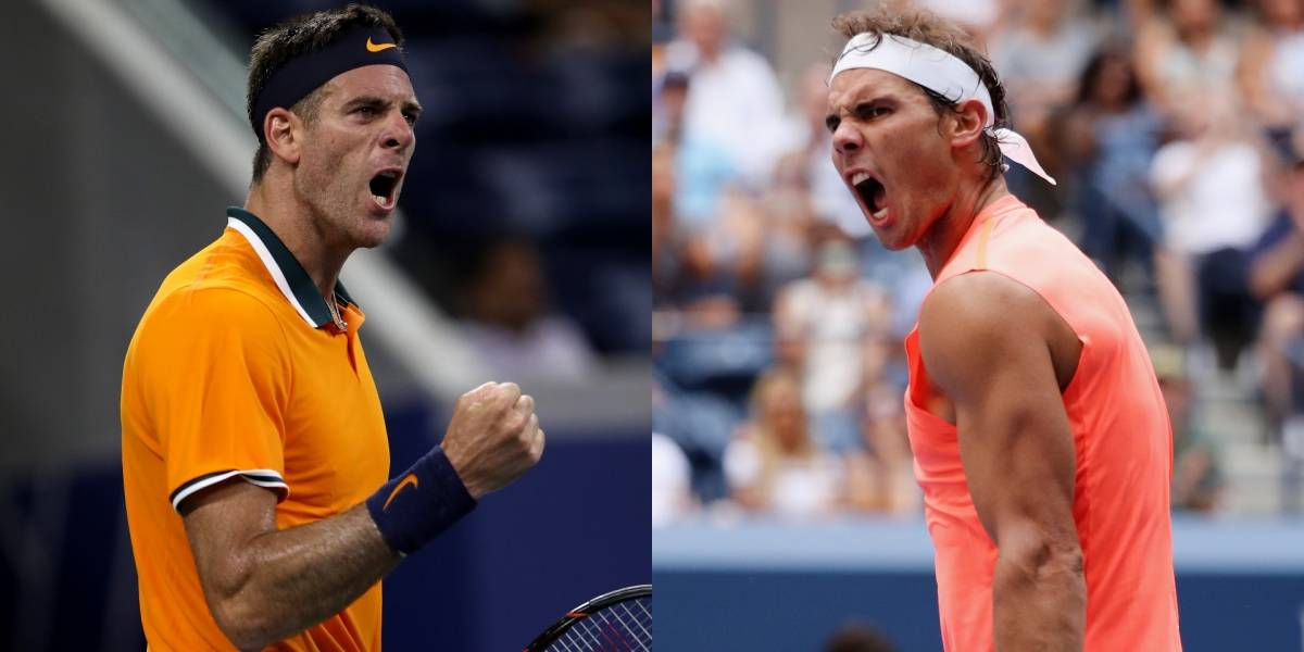 Rafael Nadal contra Juan Martín del Potro, partidazo de 'semis' en el US Open