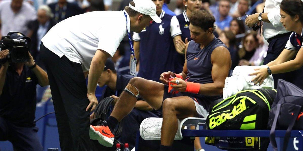 Rafael Nadal se retira del US Open por lesión