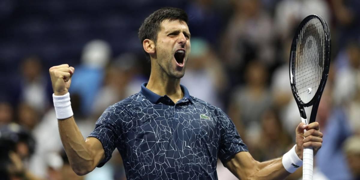 Djokovic se mete en la final del US Open cuya corona definirá ante Del Potro