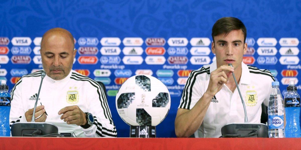 """El nuevo capitán de Argentina saca la voz: """"Hubo diálogo entre los jugadores y Sampaoli para dejar las cosas en claro"""""""