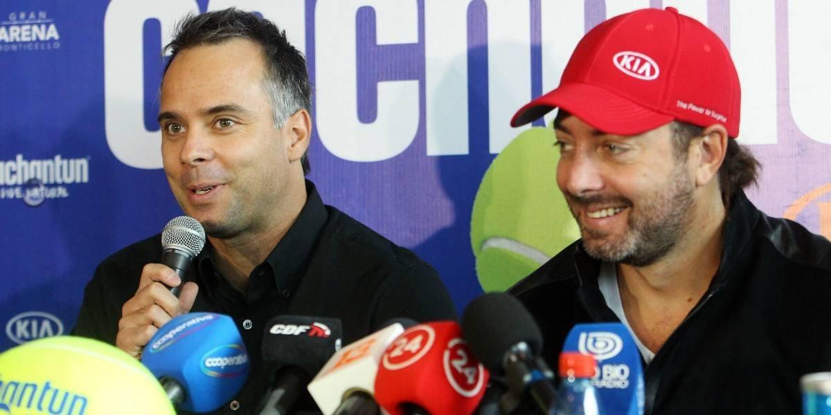 González y Massú chocan en la Copa Cachantún by Kia