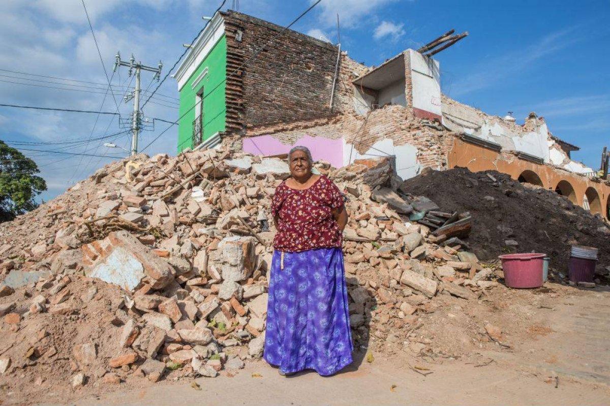 La titular de la Sedatu destacó que el avance en la reconstrucción en Oaxaca y Chiapas avanza bien Foto: Cuartoscuro