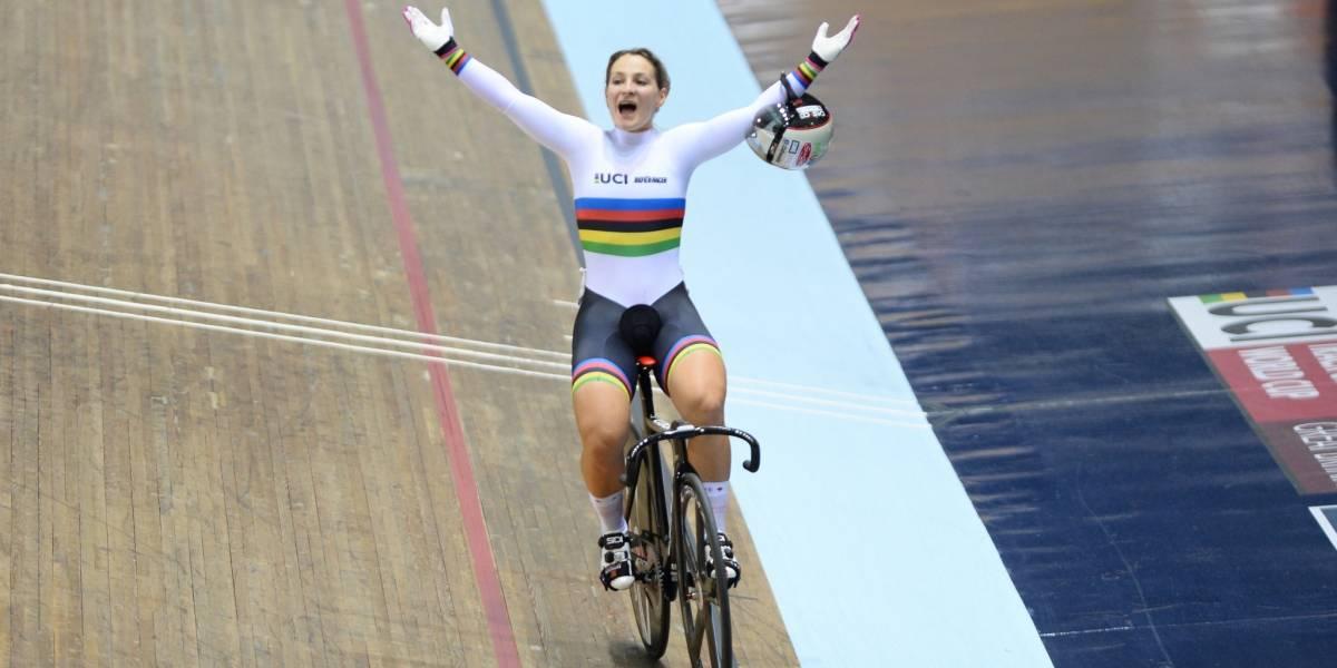 Kristina Vogel, bicampeona olímpica de ciclismo, tetraplégica tras accidente