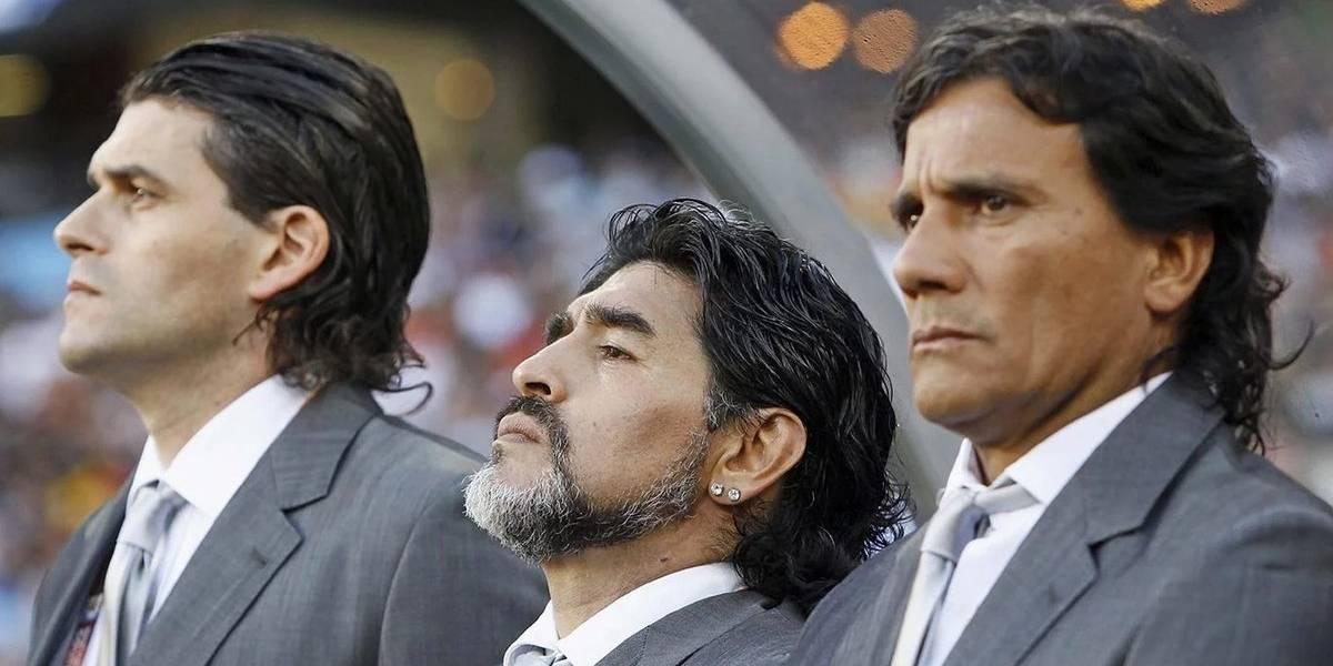 Maradona no puede escapar de los problemas: ex ayudante técnico lo demandará y lo acusó de mentiroso