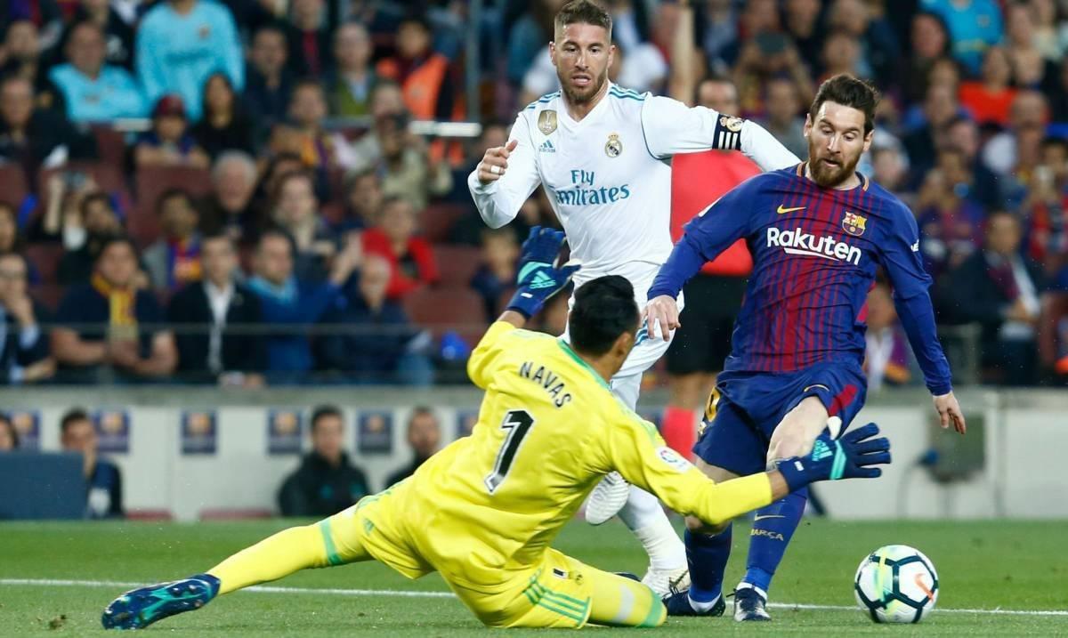 Messi no tendrá con quien rivalizar en el clásico.