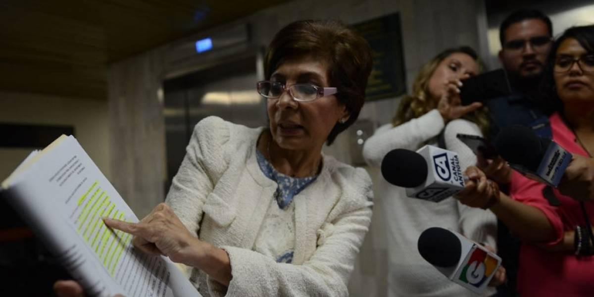 Con fuertes frases, la diputada Nineth Montenegro descalifica antejuicio en su contra