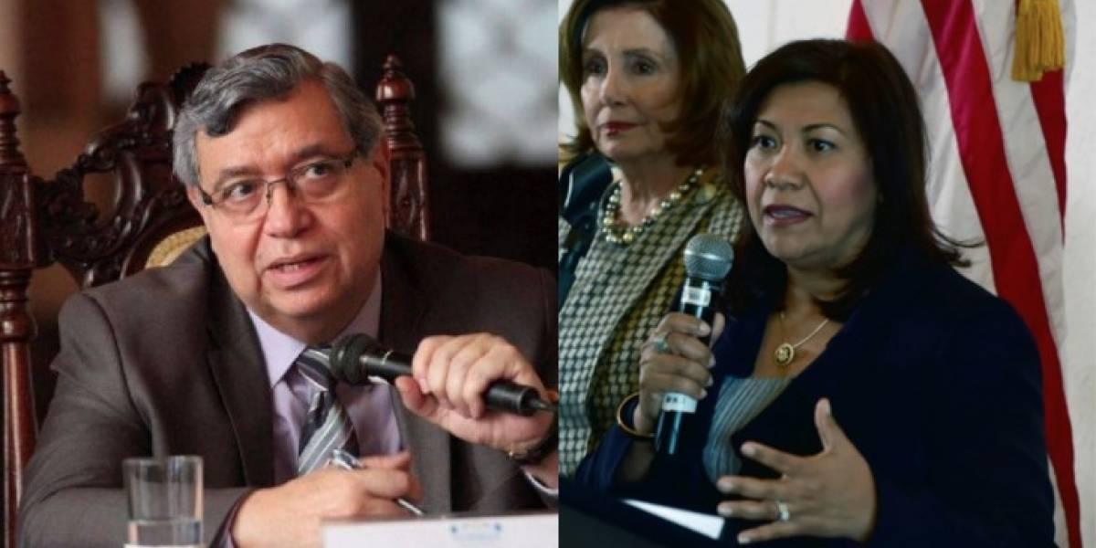 Congresista de EE. UU. critica que vicepresidente llame corruptos a los guatemaltecos