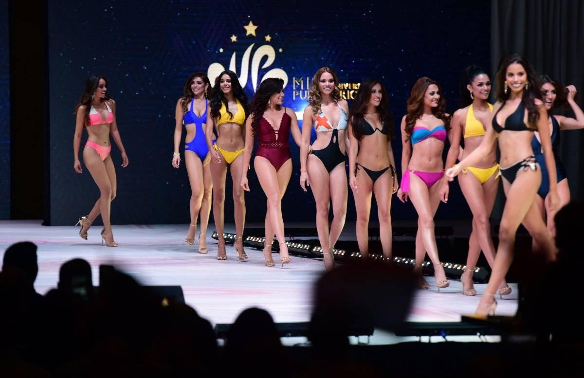 Las candidatas desfilaron en traje de baño ante el jurado de la competencia preliminar. Foto: Dennis A. Jones/ Metro P. R.