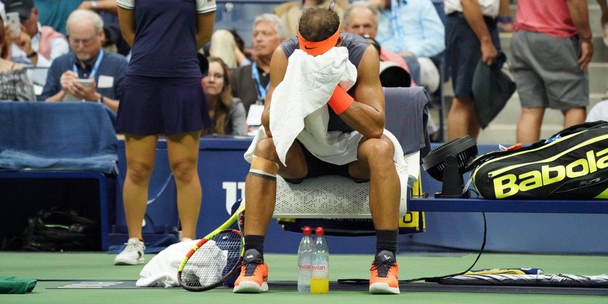 Nadal renuncia a la defensa de su título por una lesión y le cede la final a del Potro
