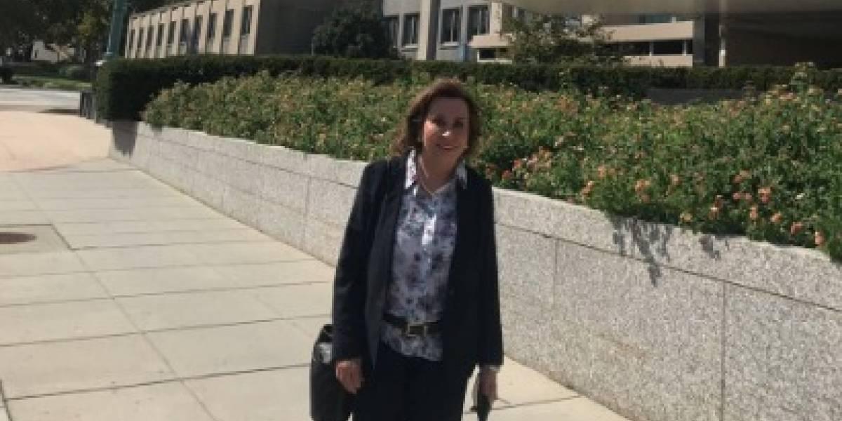 Sandra Torres visita Departamento de Estado de EE. UU.
