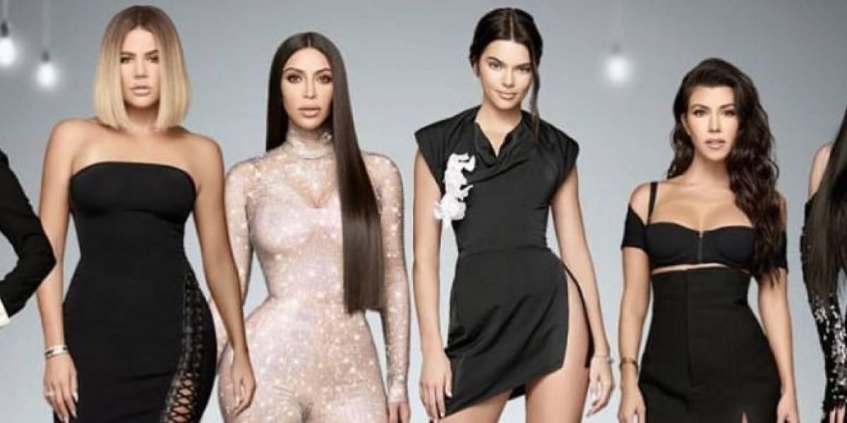 La fotografía familiar de las Kardashians que muestran cómo eran todos sin las operaciones