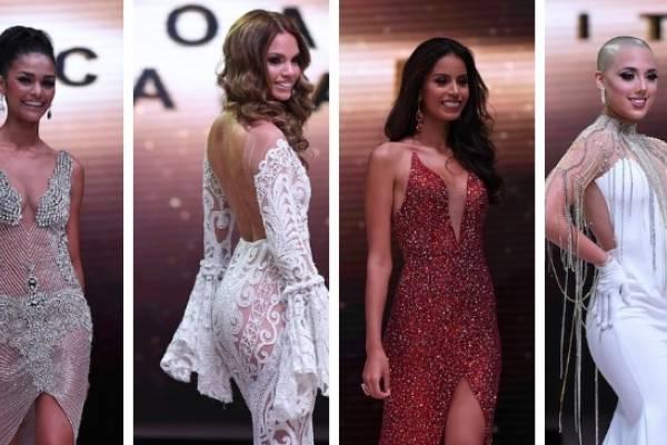 preliminar las candidatas de Miss Universe P. R. 2018