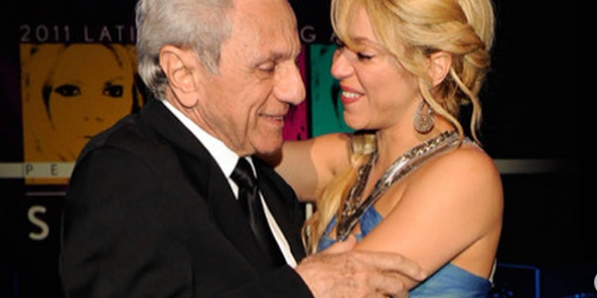 La emotiva sorpresa que Shakira le dio a su padre en pleno concierto por su cumpleaños