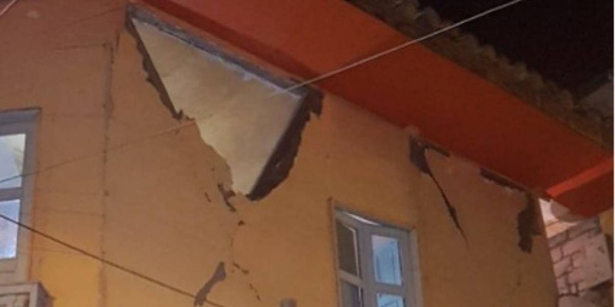 Más de 800 afectados dejó sismo de magnitud 6,2 en Chimborazo