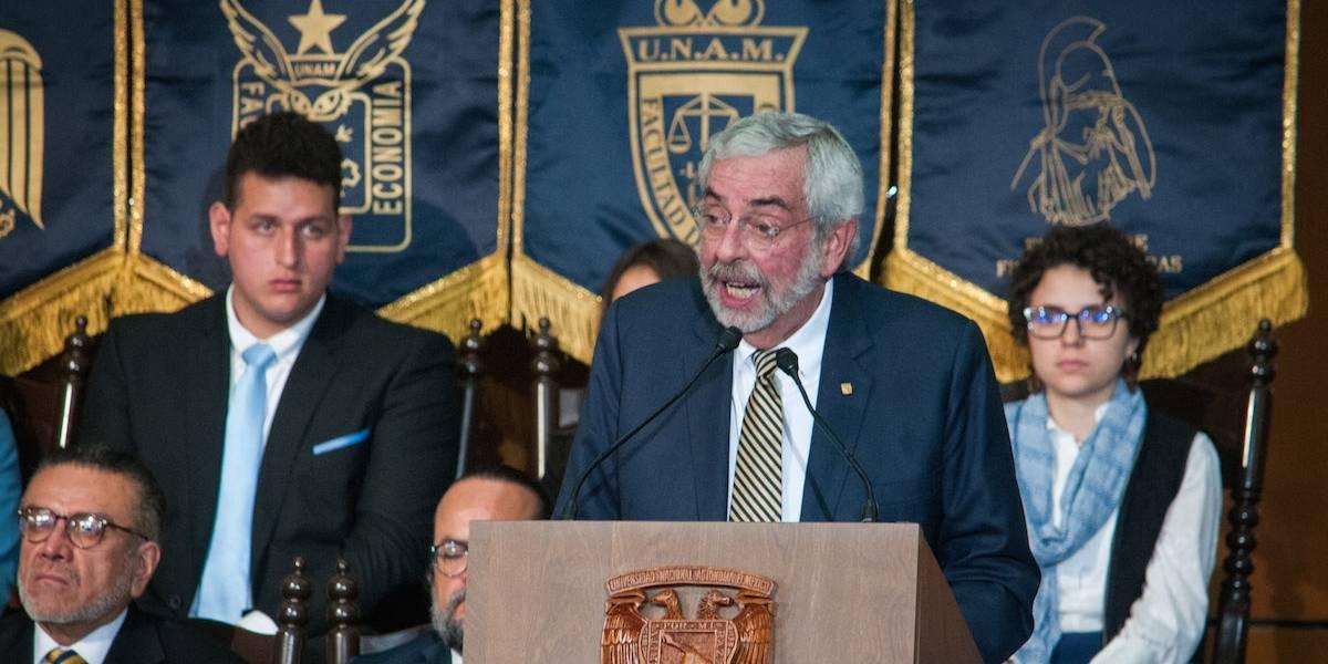 No todos los expulsados de la UNAM participaron en agresión: Graue