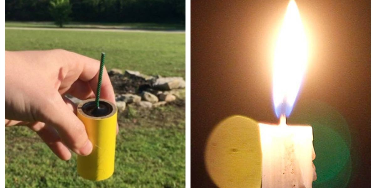 Mujer sufre quemaduras con dinamita al confundirla con velas