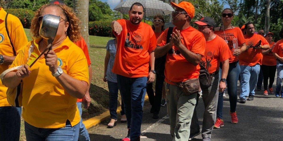 Protesta la Heend en contra de los pedidos de la JCF sobre la UPR