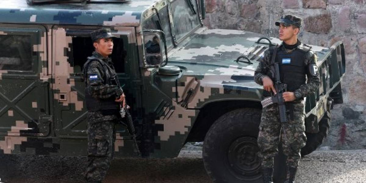 VIDEO. Policías y militares atacan reductos de pandilleros en Honduras