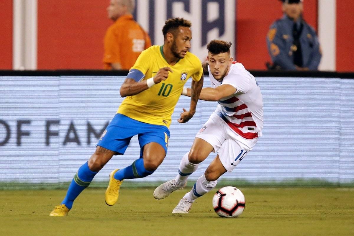 Neymar tuvo un buen desempeño