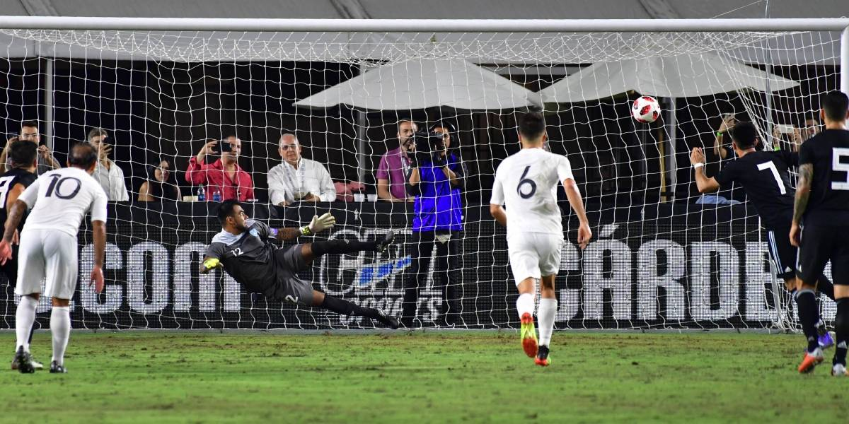 Argentina hace ver la realidad de la selección de Guatemala