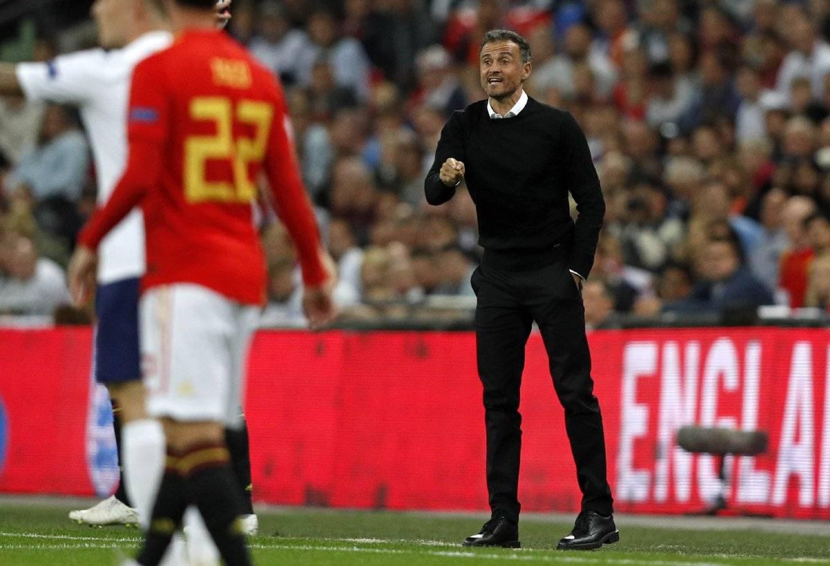 Luis Enrique tuvo un buen debut al mando de España